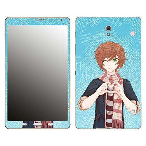 'Disagu SF 106097_ 1064Designer Skin for Samsung Galaxy Tab S with Calls/Manga Boy Heart Gesture Clear