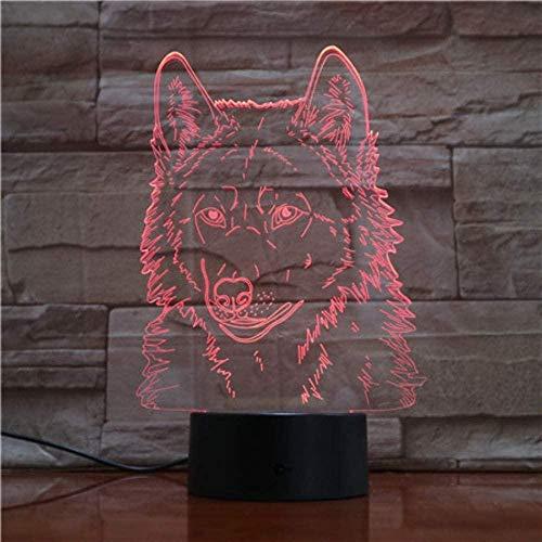 Boutiquespace Marvel Figure Batman Nachtlicht LED Superheld 3D Optische Täuschung Smart 7 Farben Nachtlicht Tischlampe mit USB-Stromkabel Kinderbett Lampen Party Schlafzimmer Bar Mall Dekor
