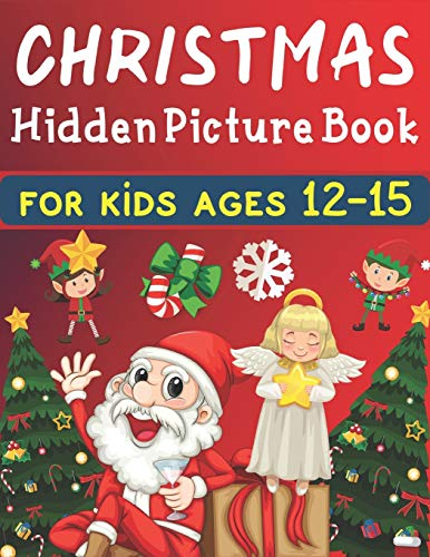 Christmas hidden picture book For Kids Ages 12-15