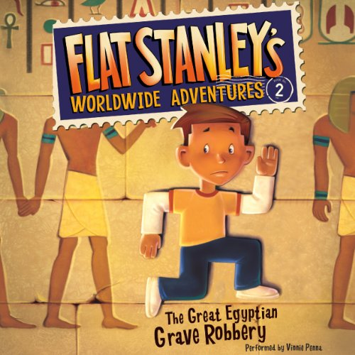 Flat Stanley's Worldwide Adventures #2 audiobook cover art