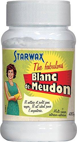 STARWAX FABULOUS Blanc de Meudon - 480g - Idéal pour Nettoyer l'Argenterie