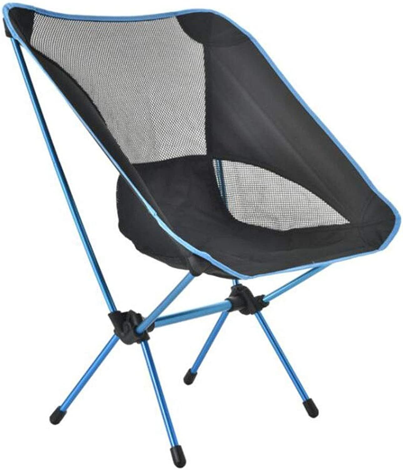 Outdoor Folding Chair Aluminum Casual Ultra Light Portable Beach Fishing Seaside Indoor and Outdoor Camping Picnic (color   A)