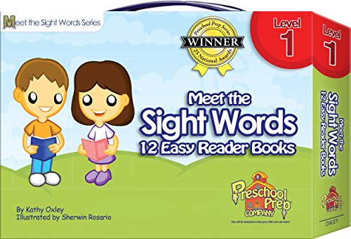 Compare Textbook Prices for Meet the Sight Words - Level 1 - Easy Reader Books boxed set of 12 books 1st Edition ISBN 9781935610007 by Kathy Oxley,Peggy Valenzuela,Sherwin Rosario