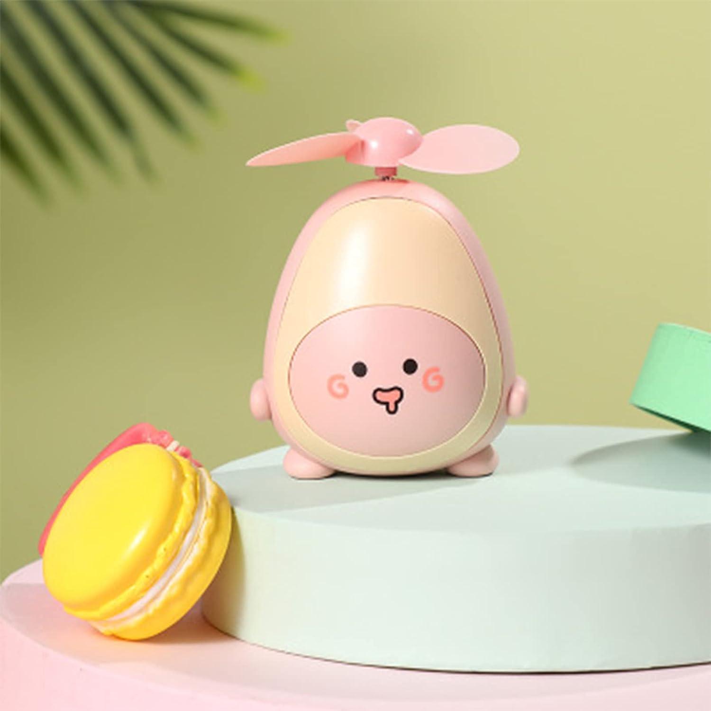 GHBG cheap Creative Fashion Cute Sales Avocado Fan Por USB Children Charging