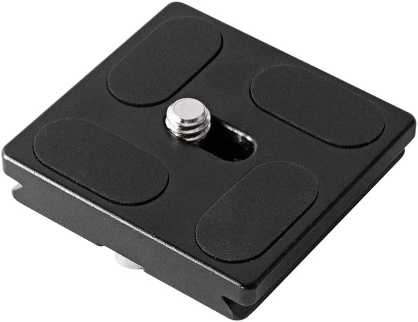 Harwerrel 40mm Quick Release Plate Fits Arca-Swiss Standard for Camera Tripod Ballhead