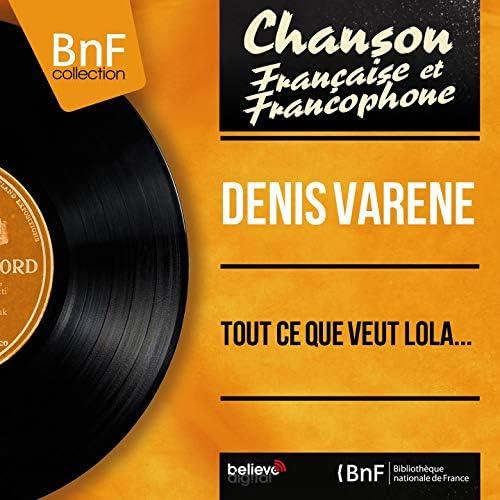 Denis Varène feat. Marcel Bianchi et son orchestre