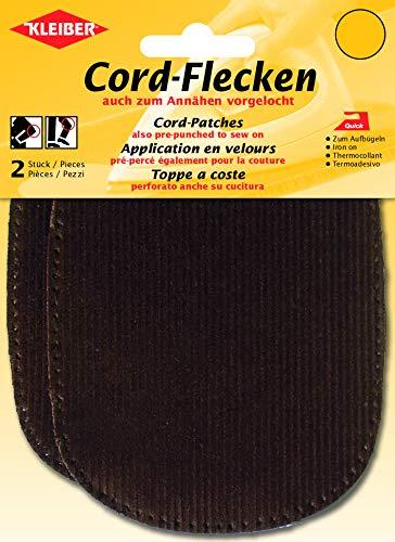 Kleiber - Coderas y Rodilleras, termoadhesivas o para coserlas, Color marrón, 2 por Paquete