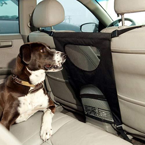 LXDDP Car Pet Barrier Travel Automobile Protektoren und Barrieren Universal Dogs Cats Animal Barrier Rücksitz, hilft Kindern Haustiere vom Vordersitz fernzuhalten, The Black Friday