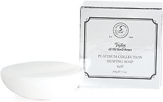 Taylor of Old Bond Street Shaving Soap Shaving Soap Refill, Platinum Collection