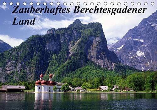 Zauberhaftes Berchtesgadener Land (Tischkalender 2021 DIN A5 quer)
