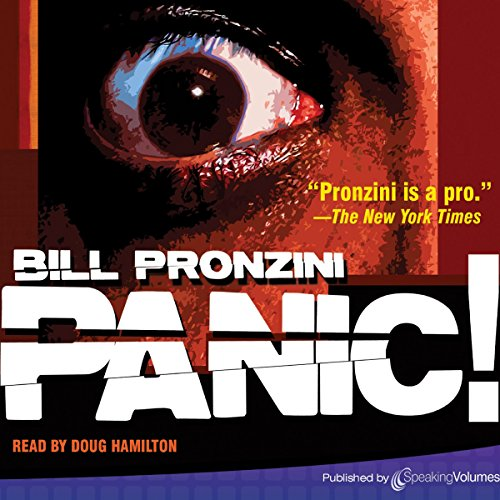 Panic! audiobook cover art