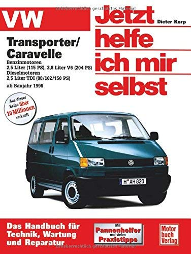 VW Transporter T4 / Caravelle. Jetzt helfe ich mir selbst by Dieter Korp(2002-05-01)