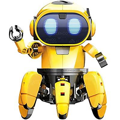 "Elenco Teach Tech ""Zivko The Robot"", Interactive A/I Capable Robot with Infrared Sensor, STEM Learning Toys for Kids 10+"