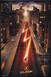 The Flash Poster Hauptplakat (93x62 cm) gerahmt in: Rahmen
