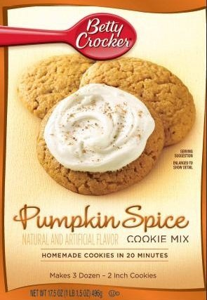 Seasonal Limited Edition Mix 17.5oz Pouch (Pack of 12) (Pumpkin Spice Cookie)