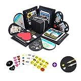 Explosionsbox Geburtstag (Stifte, Sticker) Überraschungsbox Surprise Explosion Box Boomf Box...