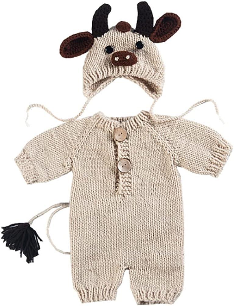 Newborn Baby Ranking TOP8 Max 55% OFF Photo Prop Boy Girl Shoot Crochet Kni Outfits