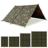 Aqua Quest Defender Tarp - 100% Waterproof Heavy Duty Nylon Bushcraft...