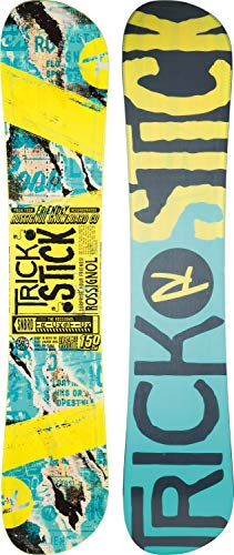 Rossignol Herren Trickstick AF Wide Snowboard, Herren, Trickstick AF Wide, gelb