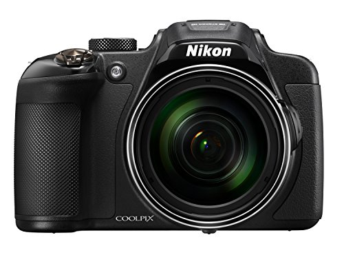 Nikon Coolpix P610 - Cámara compacta de 16 MP (Pantalla de 3', Zoom óptico 60x, estabilizador híbrido, vídeo Full HD), Negro