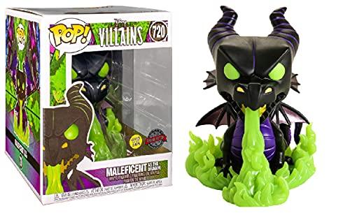 Funko Villanos de Disney - Maléfica como el dragón (brilla en la oscuridad) #720