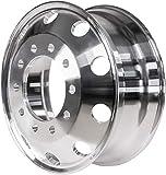 24.5 x 8.25 Alcoa Style Forged Aluminum Wheel Hub Piloted 10 HAND HOLES
