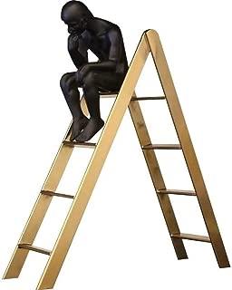LKXZYX d/écoratives la Statue lexposition du centenaire penseur Statuette Salon Design,Artisanat Creative Office Bibelots Support de t/él/éphone Portable D/écoration de Bureau