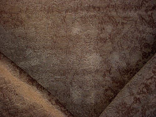 Chenille Floral Damask Fabric - 9