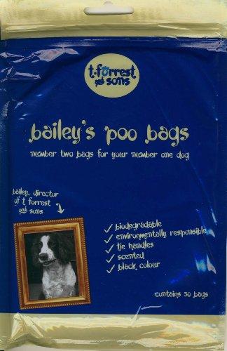 T. Forrest & Sons Baileys Lot de 50 Sacs de poo