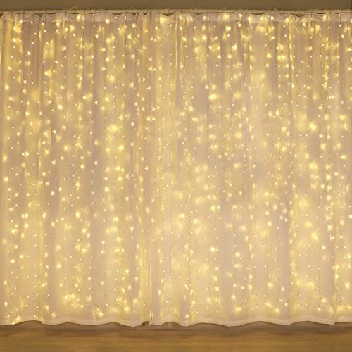 300 LED curtain lights
