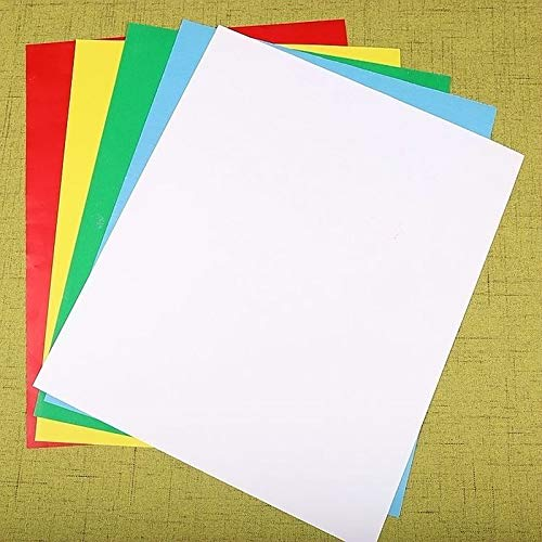 Transferpapier-Set, 5 Stück, verschiedene Farben, Transparentpapier, wasserlöslich, handgefertigt, Kreuzstich DIY Stoff Transfer Papier Stickerei Werkzeug