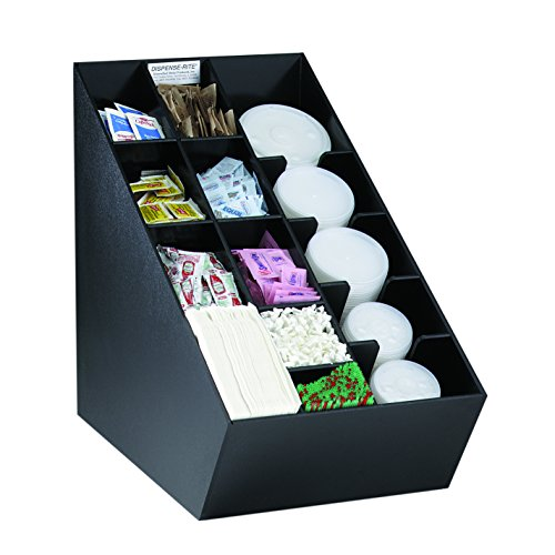 Purchase Dispense-Rite NLO-CTVL Countertop Lid, Straw, Condiment and Napkin Organizer