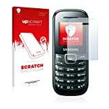 upscreen Schutzfolie kompatibel mit Samsung E1200i – Kristallklar, Kratzschutz, Anti-Fingerprint