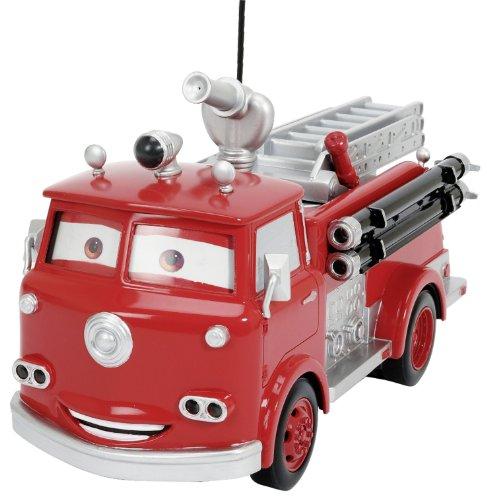 Dickie Spielzeug 203089549 - RC Disney Cars, Red Fire Engine, 3-Kanal Funkfernsteuerung, 29 cm, rot*