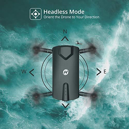 Drone pliable Holy Stone HS160 avec Caméra HD 720P WiFi FPV Vidéo en Temps réel - 3