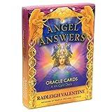 GUIMEI El ángel responde Cartas de Oracle Una baraja de 44 Cartas y una guía electrónica Libro de...