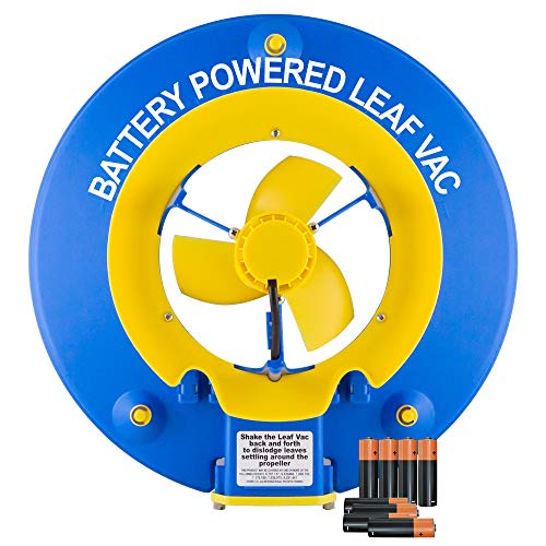 POOL BLASTER Water Tech Leaf Vac, Cordless Battery Powered Swimming Pool Leaf Skimmer, Leaf Vacuum...