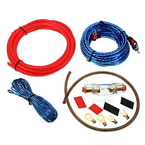 C-Funn 1500 W 10 Ga Auto Audio subwoofer versterker Amp kabelhouder kabelset