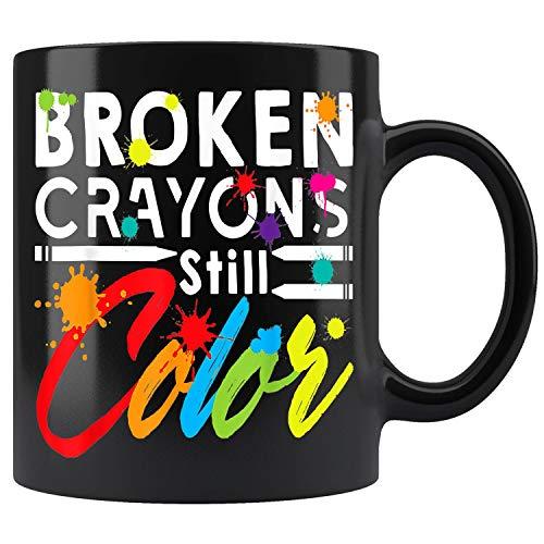 Broken Crayons Still Color Ceramic Coffee Mug (11oz)