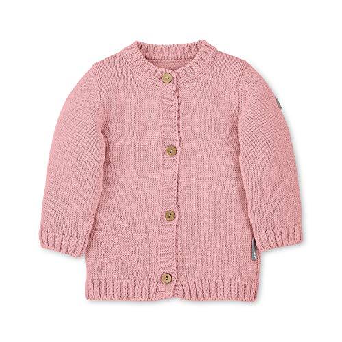 Sterntaler Baby-Mädchen Cardigan Tricoté Bébé Pour Fille, Motif: Baylee, Âge: 3-4 Mois, Taille: 56, Rose Jacke, Rosa 702, 3-6 Monate (Herstellergröße