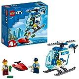 LEGO City Elicottero della Polizia con Minifigure Agente di Polizia e Ladro, per Bambini e Bambine dai 4 Anni in Su, 60275