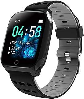 WULAU Impermeable Reloj Inteligente con Cronómetro, Pulsera Actividad Inteligente para Deporte, Reloj de Fitness con Podómetro Adecuado para Mujer Hombre Y niños