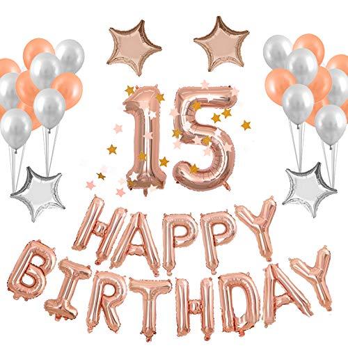 15th Birthday Supplies Amazon Com