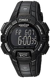 cheap Timex T5K793 Iron Man Sturdy 30 Men's Watch with Black Resin Strap