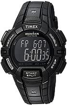 Timex Men's T5K793 Ironman Rugged 30 Full-Size Black Resin Strap Watch