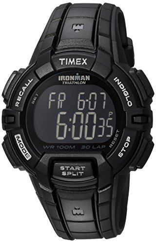 Timex Men's Ironman Rugged 30 Full-Size Black Resin Strap Watch For $7 From Amazon After $34 Price Drop!