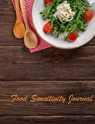 Lowest Price! Food Sensitivity Journal: Journal measures Sturdy hardcover with wire-o binding 110 pa...