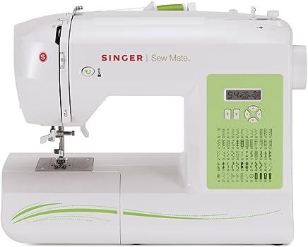 Singer Sew Mate - Máquina de Coser (Blanco, Máquina de Coser automática, Costura, 1 Paso, Variable, Eléctrico)