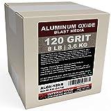 #120 Aluminum Oxide - 8 LBS - Fine Sand Blasting Abrasive Media for Blasting Cabinet or Blasting Guns.
