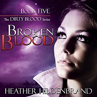 Broken Blood audiobook cover art